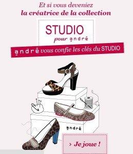 « Dessinons la mode », nouveau concours d'André ! dans cadeau andre-chaussures-259x300